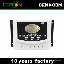 2018 nouveaux produits prix 12 V 24 V 10A 20A 30A 40A 50A 60A PWM contrôleur de charge solaire