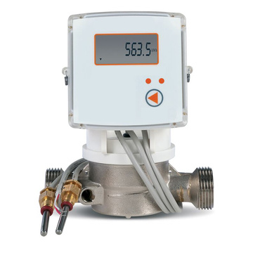 RS485 or M-bus Household Brass Pipe Mechanical Heat Meters