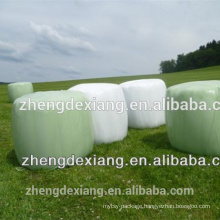 25mic White and Green Silage Wrap Film