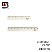 Multifunctional PS Plastic Ruler for Office Stationery Supplies