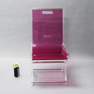 Großhandel Einzelperson Landung billigen Kunststoff Acryl Stuhl