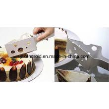 Пластиковая форма для инъекций ножа для торта