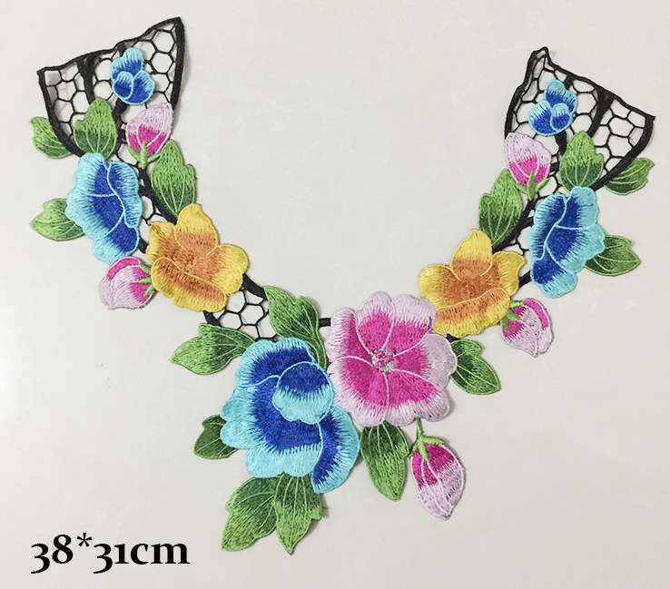 Embroidery collar modify