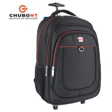 Chubont 2017 pas cher de haute qualité noir Sport Trolley Backpack