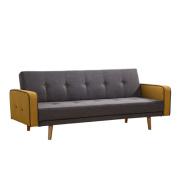 Convertible Contemporary Fabric Sleeper Sofa Bed