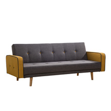 Bed tukar Kontemporari Fabrik Sleeper Sofa