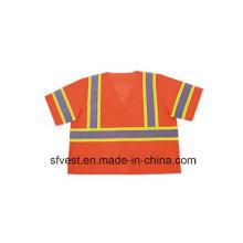 ANSI107 Hohe Sichtbarkeit Refektive Schutzkleidung