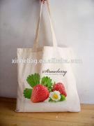 eco friendly 100% organic cotton canvas tote bag