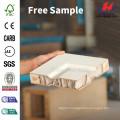 JHK-001 Good Customized FSC Certificate Whiter Primer Flush Solid Wooden Door
