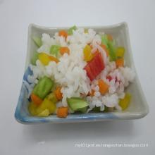 Arroz de Konjac sin azúcar con dieta rica en fibra dietética