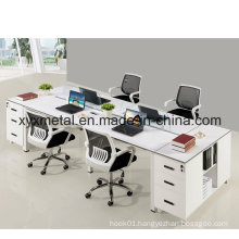 4 Seater Face to Face Laptop Display Office Staff Workstation Desk with Metal Base (GT-DA05B)