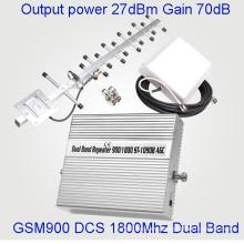 27dBm Potencia de señal móvil de doble banda 900 / 1800MHz GSM Dcs Repeater