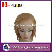 Perruque brésilienne de lacet de perruque de dentelle / cheveux humains faits avant en Chine