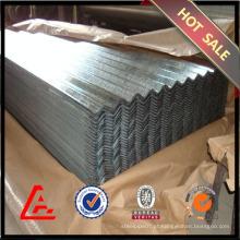 Quente mergulhado galvanizado chapas de aço ondulado / chapa de aço galvanizado / preço barato coberturas de metal