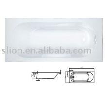 Bañera de acrílico independiente, bañeras personalizadas, bañera de acrílico simple