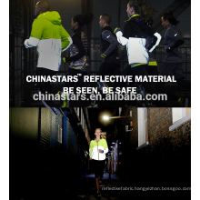 Strechable reflective fabric