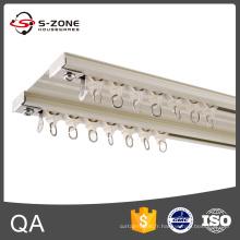 Szone GD15 Rail rideau double en aluminium plafonnier pour décoration intérieure