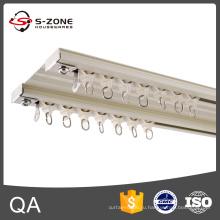 Szone GD15 Потолочный алюминиевый двойной занавес для домашнего декора