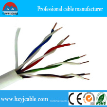 Alta calidad 23 AWG UTP Cat. 6 Cable LAN, 24 AWG UTP Cat. 5e Cable LAN, Cable de red