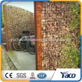 Гибкая Подпорная стенка корзины gabion низкоуглеродистый стальной провод для моста