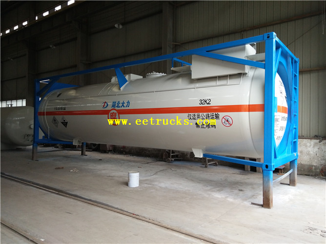 34000L HCl Tank Containers