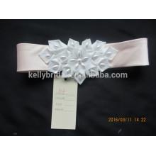 Atacado moda rendas e contas de contas de noiva vestido rhinestone applique laço para decoração de vestido