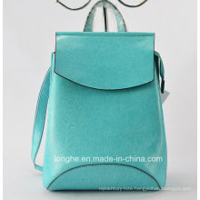 2015 New Style Fashion Genuine Leather Backpack (ZX10001)