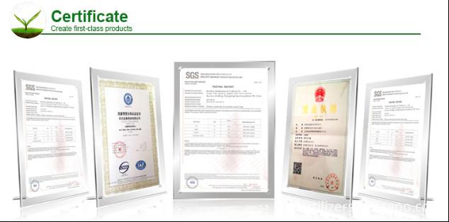 fertilzier certificate