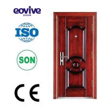 Porte de fer extérieur personnalisé personnalisé porte extérieure sécurité porte
