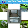 hot sale high quality galvanized steel flower pot for plant