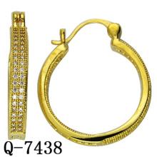 Factory Hot Sale Fashion Copper Jewelry Hoop Earrings