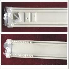 Deckenvorhang Doppelspur, Plastik doppelte Spur, abgehängte Decke doppelte Vorhangspur