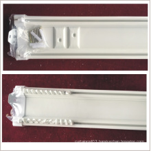 ceiling curtain double track,plastic double track,suspended ceiling double curtain track