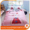 China hochwertiges 100% Polyester bedrucktes Gewebe für Bettwäsche