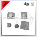 Tipo de botão e material metálico botão de pressão magnética