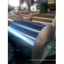 Hydrophile Aluminiumfolie in blauer oder goldener Farbe