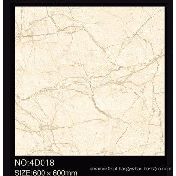 China grau AAA e preço barato cheio polido vitrificado telha do assoalho de porcelana