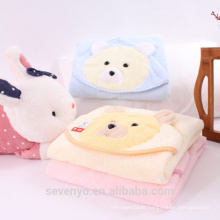 Lovely bear towel baby super fluffy premium baby bath towel ideal for baby sensitive skin