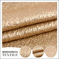 Top quality Different kinds of beautiful chenille PU coated fabric