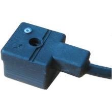 DIN43650A Steckverbinder - DIN43650A mit fliegenden Leitungen mit LED