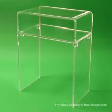 Cristal Lucite Muebles Escritorio de acrílico para el hogar