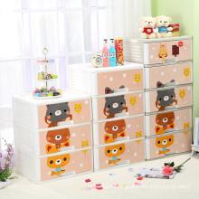 Carton Printing Plastic Storage Room Cabinet (FL-154-1)