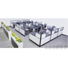Clúster de cubículo de partición de oficina de alta eficiencia (FOH-SS40-1414L)