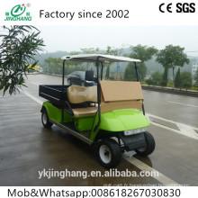 4kw puissant2 siège pas cher véhicule utilitaire électrique / voiture électrique avec boîte de chargement.