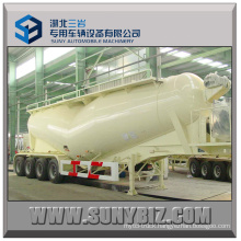 65cbm 70cbm 75cbm 80cbm 4axles Bulk Cement Tanker Trailer