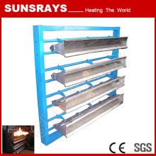 Queimador de aço inoxidável do canal do queimador do molde para o aquecimento industrial