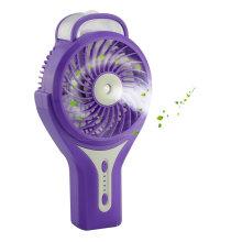Mini ventilador com bateria com clip Water Spray