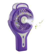 Battery Operated Mini Fan with Clip Water Spray