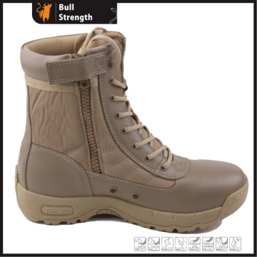 Desert Leather Safety Boots with Rubber Sole (Sn5312)