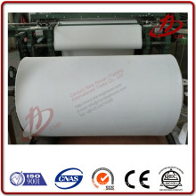 Pneumatic fluidizing conveyor medium the woven type Airslide fabric belt